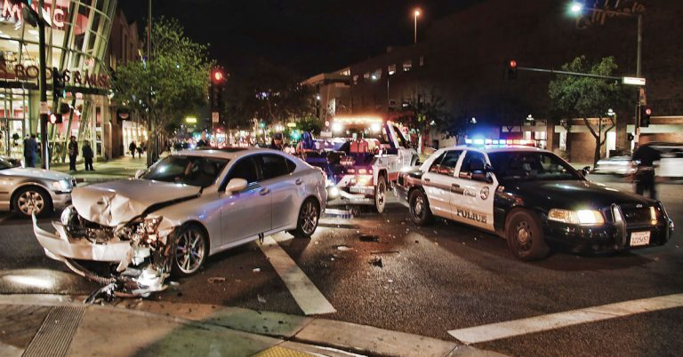 car accident in glendale ca photo by chris yarzab