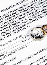 If you have children and you are getting married, you need a premarital agreement. Why not make it Romantic?