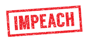 Impeach stamp in red