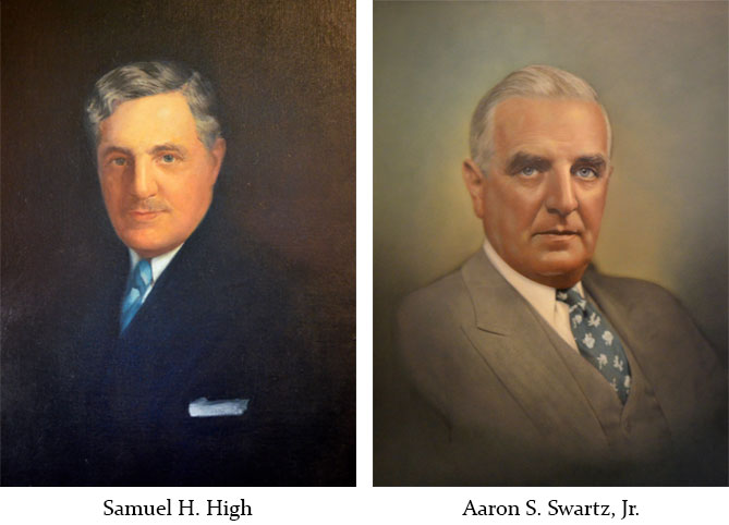 portraits of high swartz law firm founders