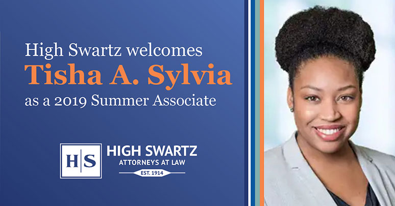 High Swartz Welcomes Summer Associate from Rutgers Law School
