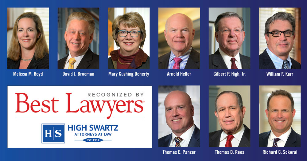 Best Lawyers Names 9 High Swartz Attorneys