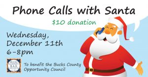 phone calls with santa by the young lawyers division of the bucks county bar assoication