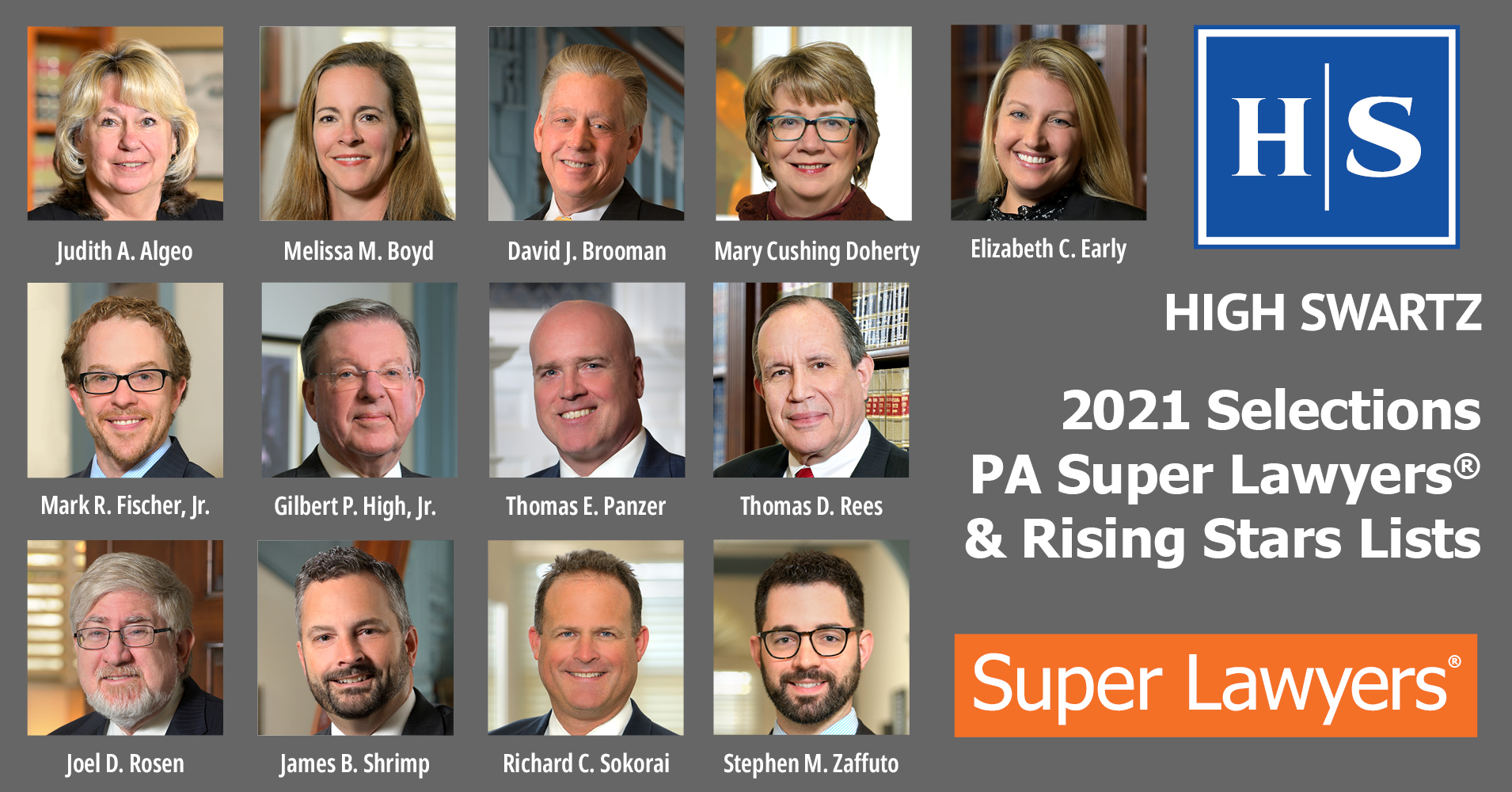 high swartz 2021 super lawyers and rising stars list