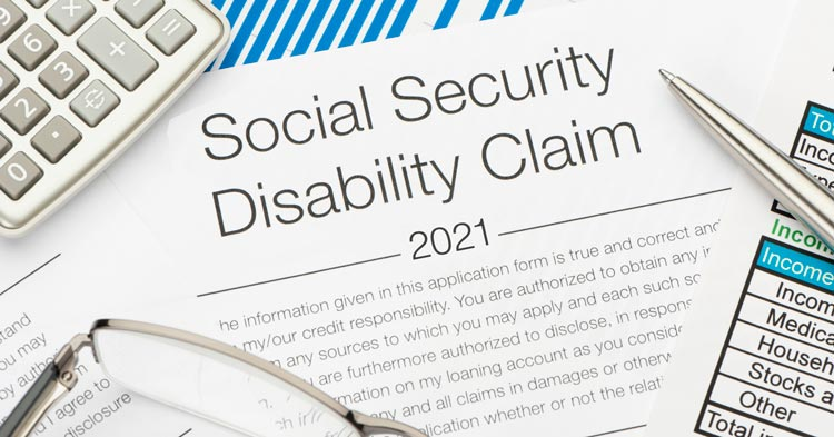 Social security disability claims in 2021