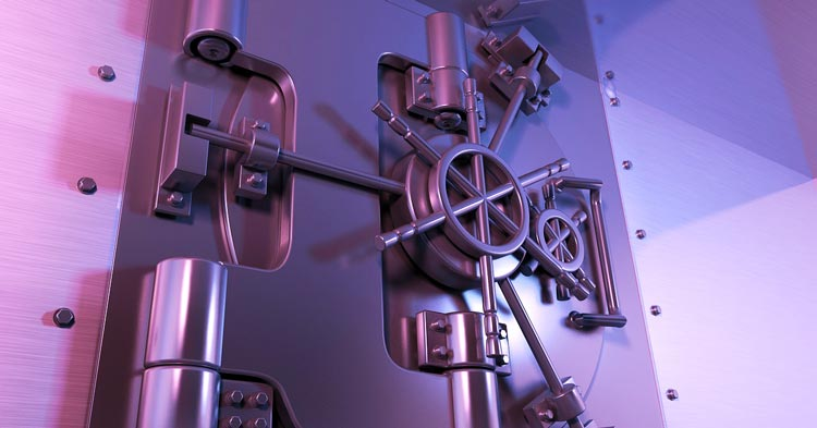 safety vault protecting trade secrets